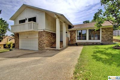 Harker Heights Single Family Home For Sale: 809 Cliffside Drive