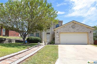 Harker Heights Single Family Home Pending: 3057 Rain Dance Loop