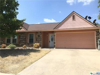 Killeen Single Family Home For Sale: 5009 Windsong Drive