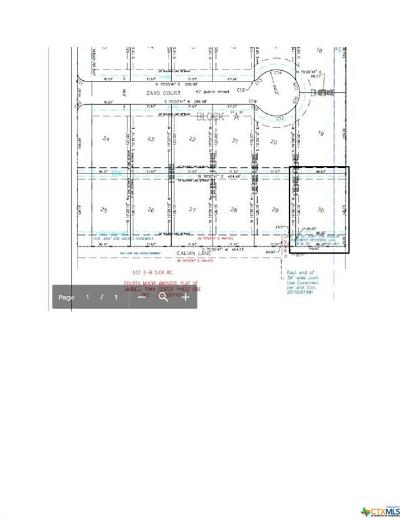 Williamson County Residential Lots & Land For Sale: 121 Calvin Smith Lane