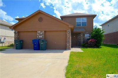 Copperas Cove Multi Family Home For Sale: 3113 Yaupon Road