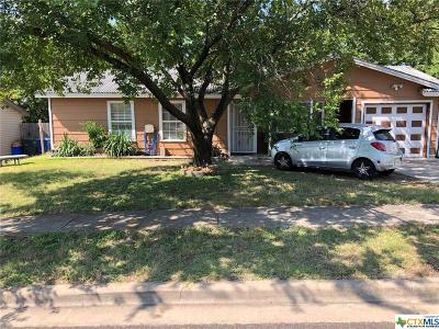 Copperas Cove Single Family Home Pending: 601 Traci Drive
