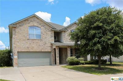 Killeen Single Family Home For Sale: 5807 Mosaic Trail