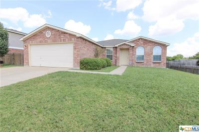 Killeen Single Family Home For Sale: 2608 Waterfall Drive