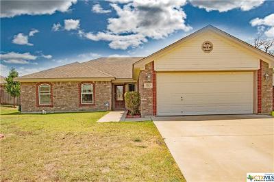 Copperas Cove Single Family Home Pending: 3511 Lauren Street