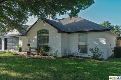 Harker Heights Single Family Home For Sale: 1512 Chardonnay Drive