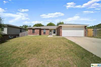 Copperas Cove Single Family Home Pending: 1320 Katelyn Circle