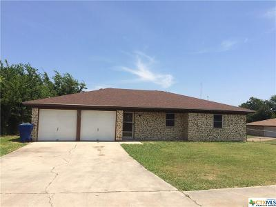 Copperas Cove Single Family Home Pending: 1002 Shiela Drive