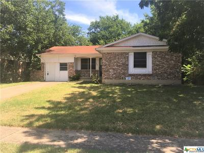 Killeen Single Family Home For Sale: 1407 Missouri Avenue