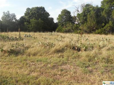 Copperas Cove Residential Lots & Land For Sale: 0000 Canyon Drive