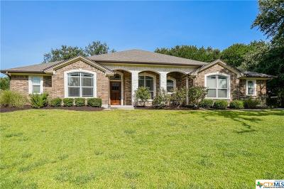 Temple, Belton Single Family Home For Sale: 813 Benchmark Trail