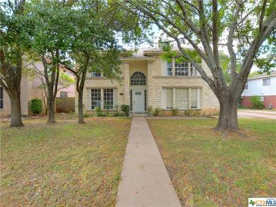 Round Rock Single Family Home For Sale: 8442 Fern Bluff Avenue