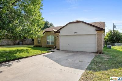 Temple, Belton Single Family Home For Sale: 1507 Ridgeway
