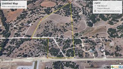 Copperas Cove Residential Lots & Land For Sale: 26 Acres Big Divide Road