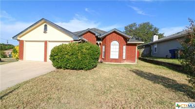 Copperas Cove Single Family Home Pending: 308 Appaloosa Drive