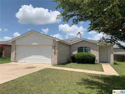 Killeen Single Family Home For Sale: 4103 Bull Run Drive