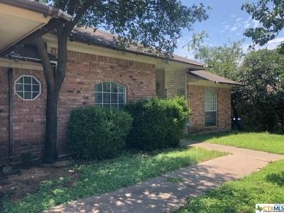 Copperas Cove Single Family Home Pending: 920 Northern Dancer Drive