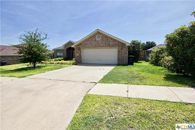 Killeen Single Family Home For Sale: 3206 Sherwood Forest Drive