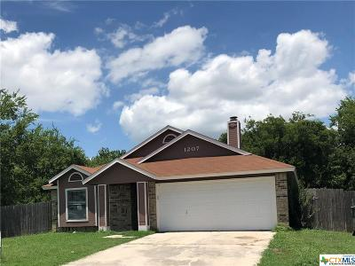 Killeen Single Family Home For Sale: 1207 Liberty Bell Loop