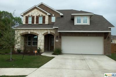 Killeen Single Family Home For Sale: 3714 Rusack Drive