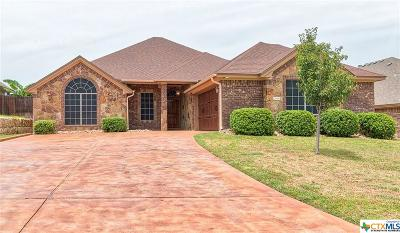 Harker Heights Single Family Home For Sale: 2509 Mugho Drive