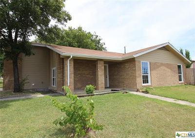 Killeen Single Family Home For Sale: 2206 Grandon Circle