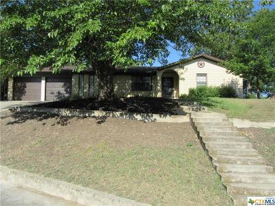 Copperas Cove Single Family Home For Sale: 1502 Cross Street Street