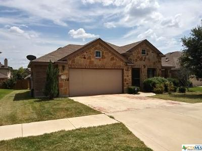 Killeen Single Family Home For Sale: 3706 Rusack Drive