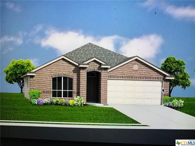 Copperas Cove Single Family Home For Sale: 2527 Pintail Loop