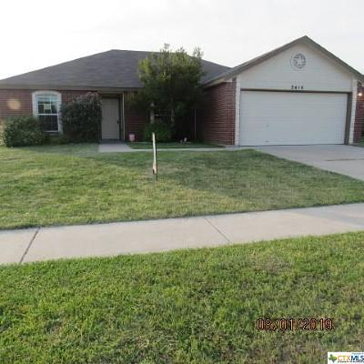 Copperas Cove Single Family Home For Sale: 2410 Ryan Drive