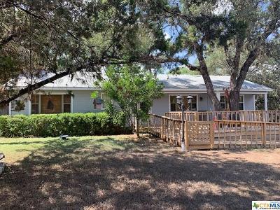 Canyon Lake TX Single Family Home For Sale: $238,000
