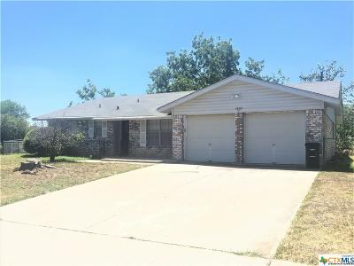 Killeen Single Family Home For Sale: 1802 Muir Drive