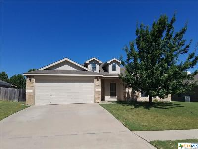 Copperas Cove Single Family Home For Sale: 2509 Vernice Drive