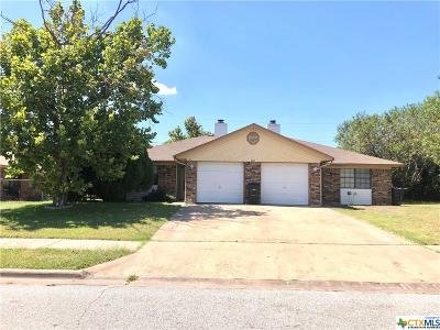 Killeen Single Family Home For Sale: 3007 Honeysuckle Circle