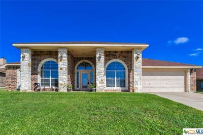 Killeen Single Family Home For Sale: 5705 Turquoise