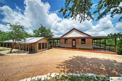 Wimberley TX Single Family Home For Sale: $525,000