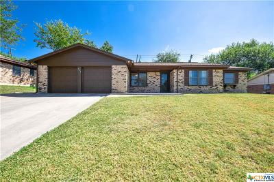 Copperas Cove Single Family Home For Sale: 622 Manning Drive