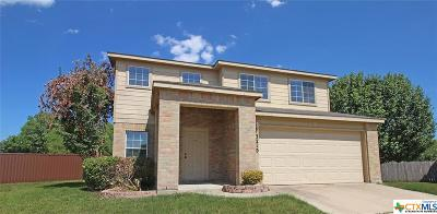 Killeen Single Family Home For Sale: 3210 Fry Court