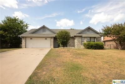 Killeen Single Family Home For Sale: 4905 Bending Trail