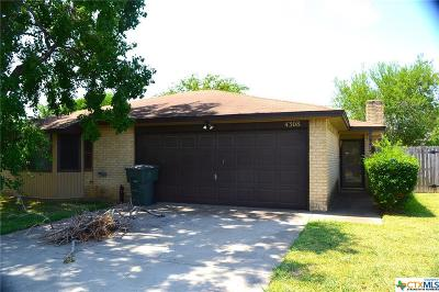 Killeen Single Family Home For Sale: 4308 Jana Drive