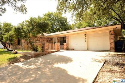 Copperas Cove TX Single Family Home For Sale: $110,000