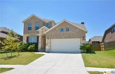 Killeen Single Family Home For Sale: 2506 Legacy Lane