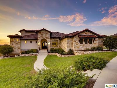 New Braunfels Single Family Home For Sale: 554 Cantera Ridge