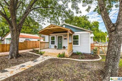 Comal County Single Family Home For Sale: 2508 Second Street