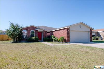 Killeen Single Family Home For Sale: 4300 Sunflower Drive