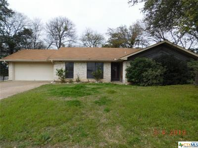 Harker Heights Single Family Home For Sale: 1211 Cedar Oaks