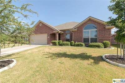 Harker Heights Single Family Home Pending: 1104 Chaucer Lane
