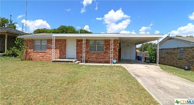 Copperas Cove, Kempner Single Family Home For Sale: 410 Hill Street