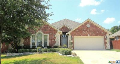 Harker Heights Single Family Home For Sale: 402 Cheetah Trail