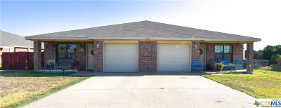 Copperas Cove Single Family Home Pending: 3114 Janelle Drive #A-B